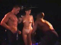 Locura de tres gay casero sex vías en el escenario