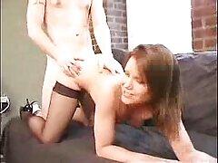 Goldie Blair en el juego videos caseros homosexuales para TI